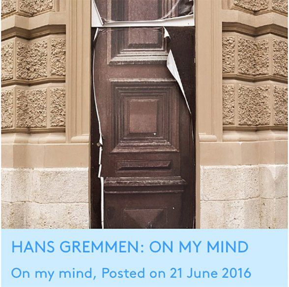 Hans Gremmen on A wallpaper of a door on another door @ FOAM Spotlight. \u201c & Hans Gremmen on A wallpaper of a door on another door @ FOAM ...